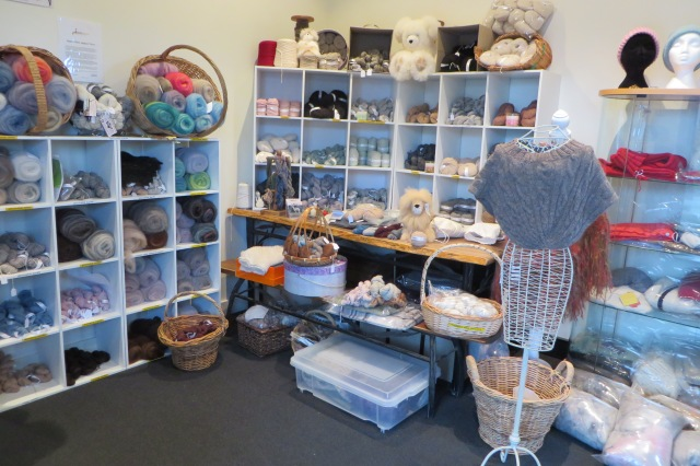 The factory store at Knit Alpaca