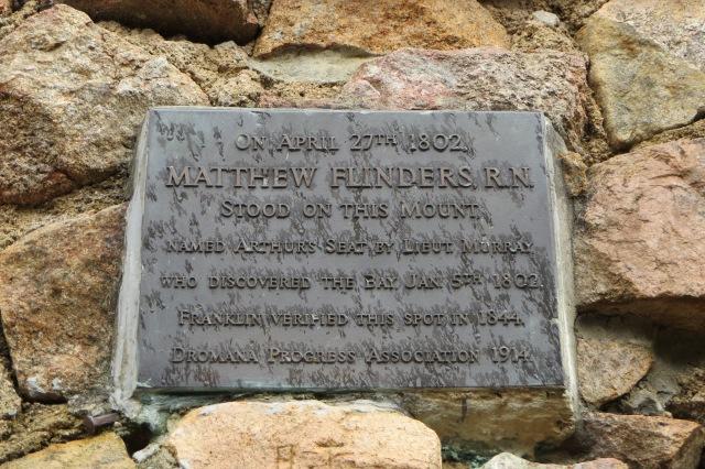 Matthew Flinders cairn