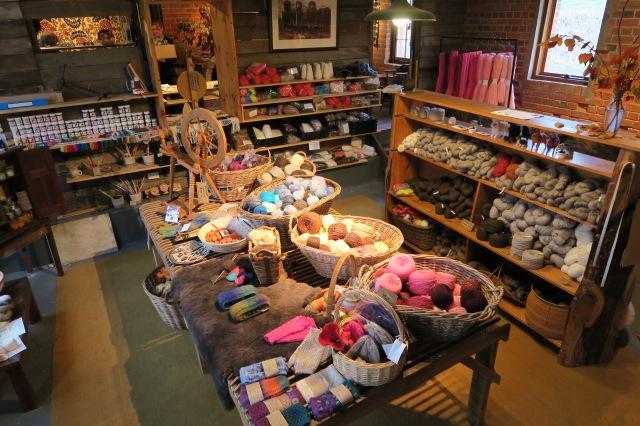 The Tarndwarncoort wool shop
