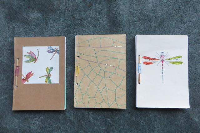 three notebook designs