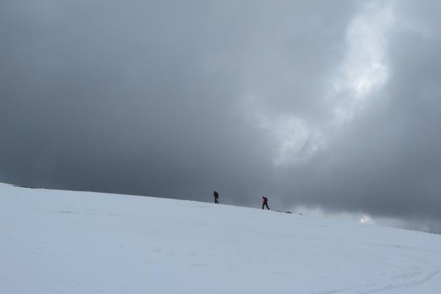 Ascending Mt Stirling