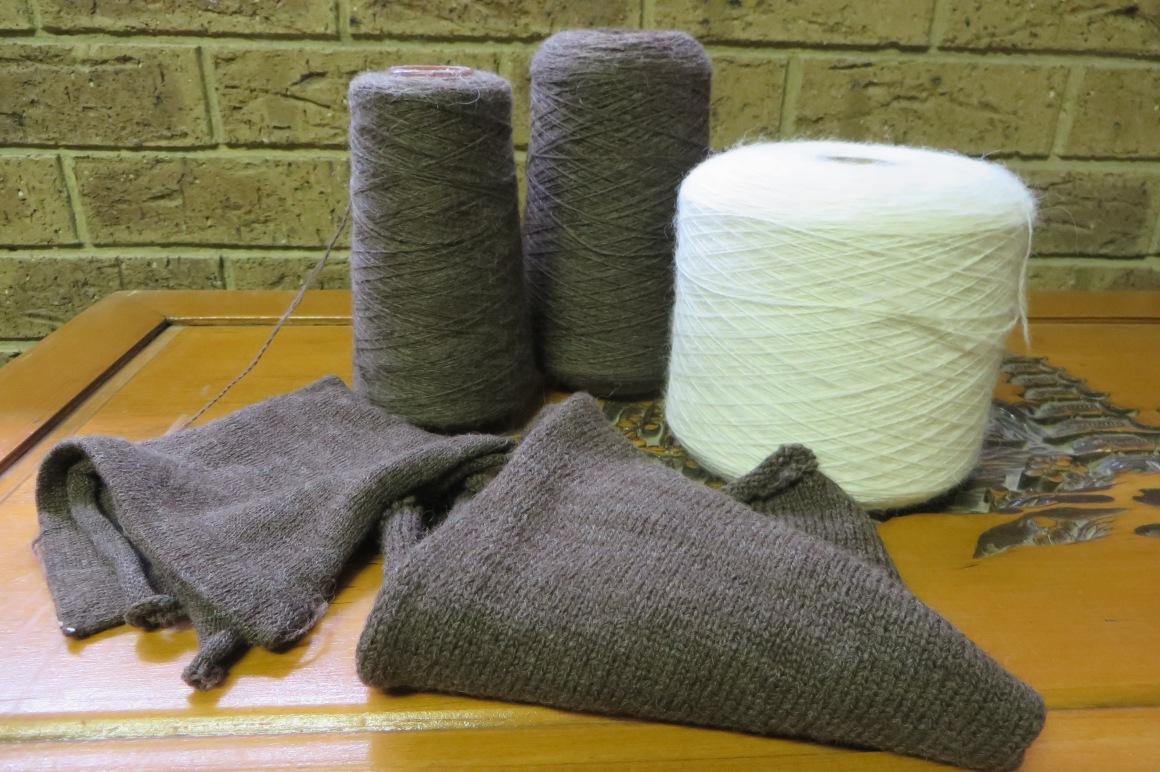Yarn samples