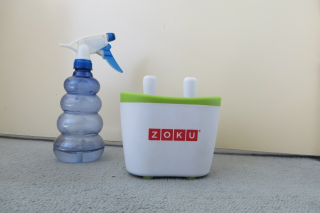 spray bottle and icypole maker