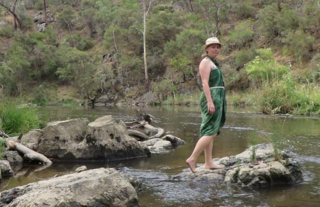 The yarra river near Warrandyte