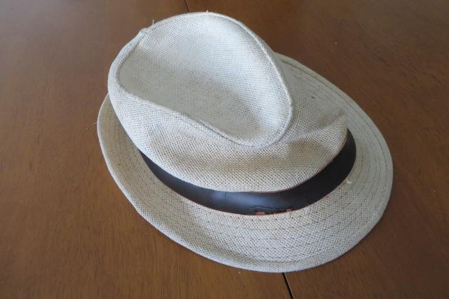 Crumpled hat